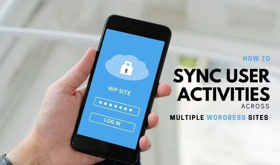 sync user activity across wp sites