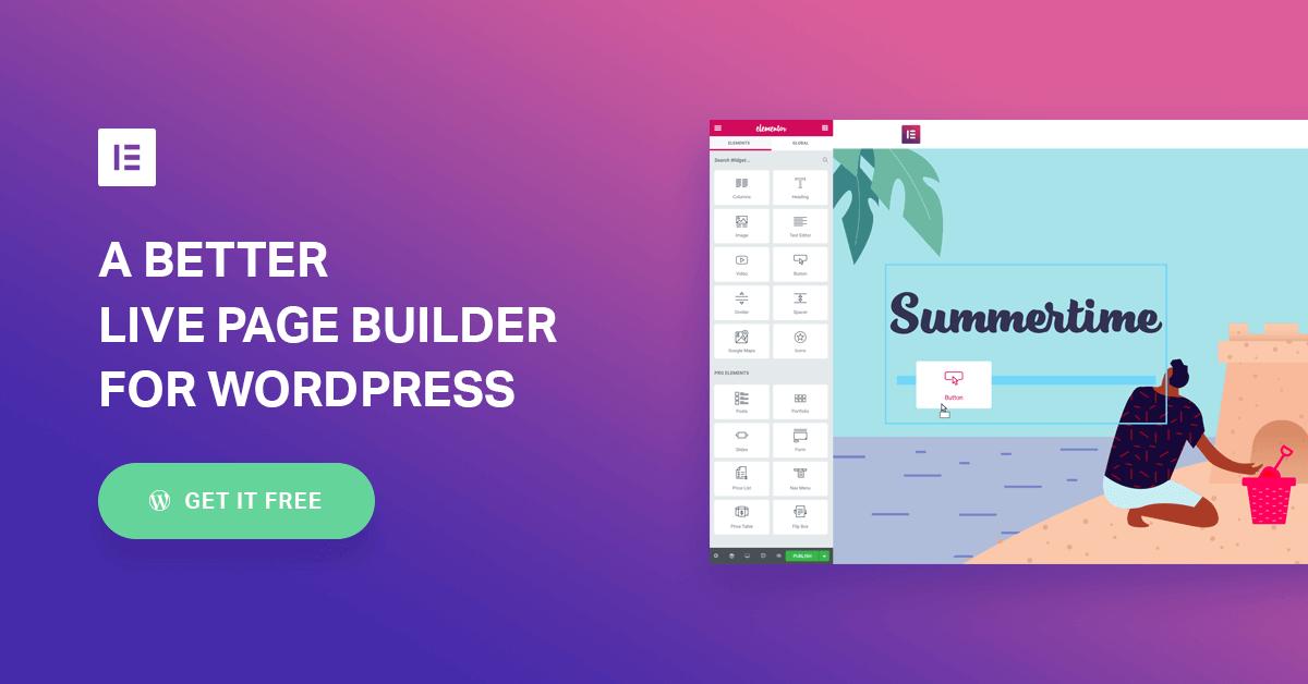 Elementor Page Builders