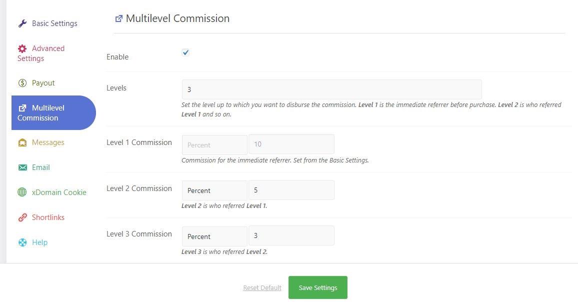 multilevel affiliate referral tracking wordpress plugin