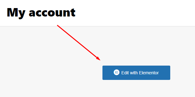 Create WooCommerce My Account page